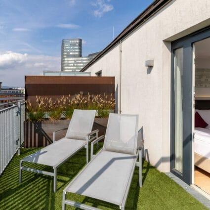 Suite mit Terrasse
