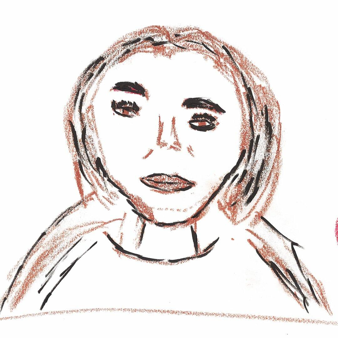 Zeitgeist Mitarbeiter Daniela Zeichnung
