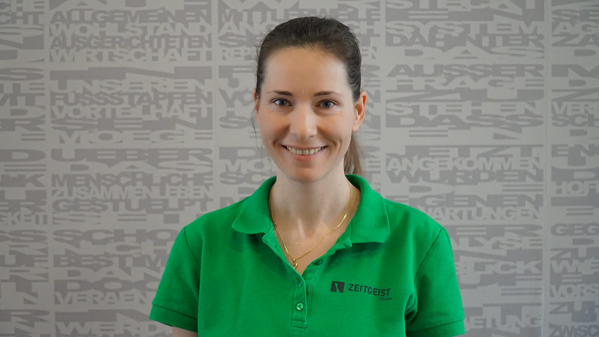 Zeitgeist employee Jana Weissova 2