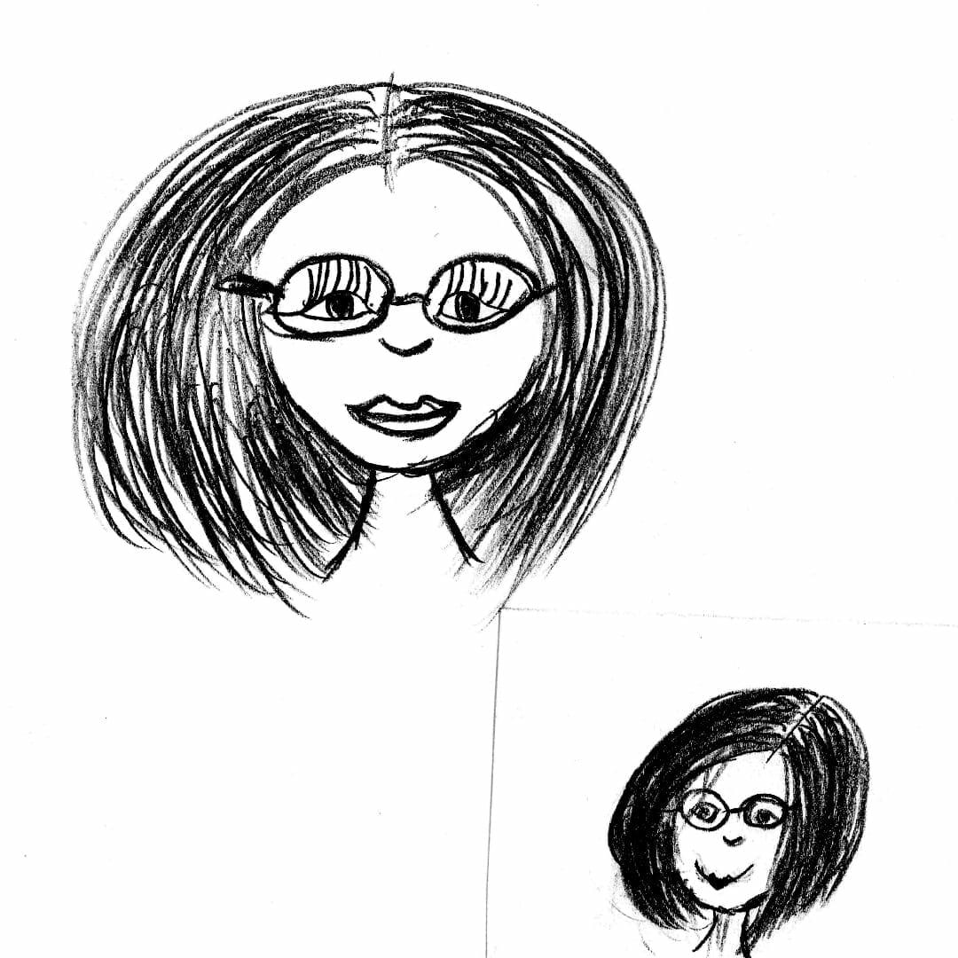Zeitgeist Mitarbeiter Nicole Zeichnung