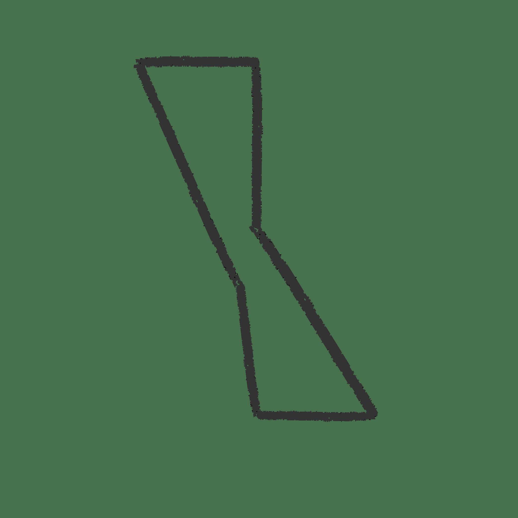The hourglass in the Zeitgeist logo