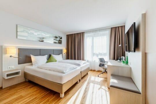 Zimmerkategorie Deluxe im Hotel Zeitgeist Vienna