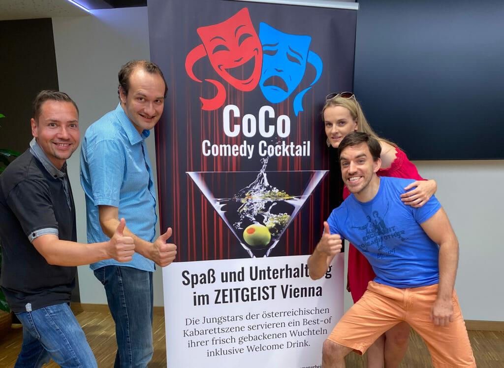 Jungtalente der österreichischen Kabarettszene im Zeitgeist Vienna