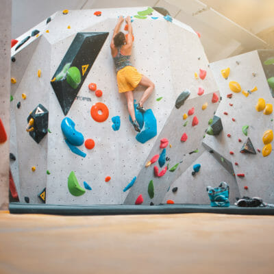 Climbing fun for beginners and professionals
